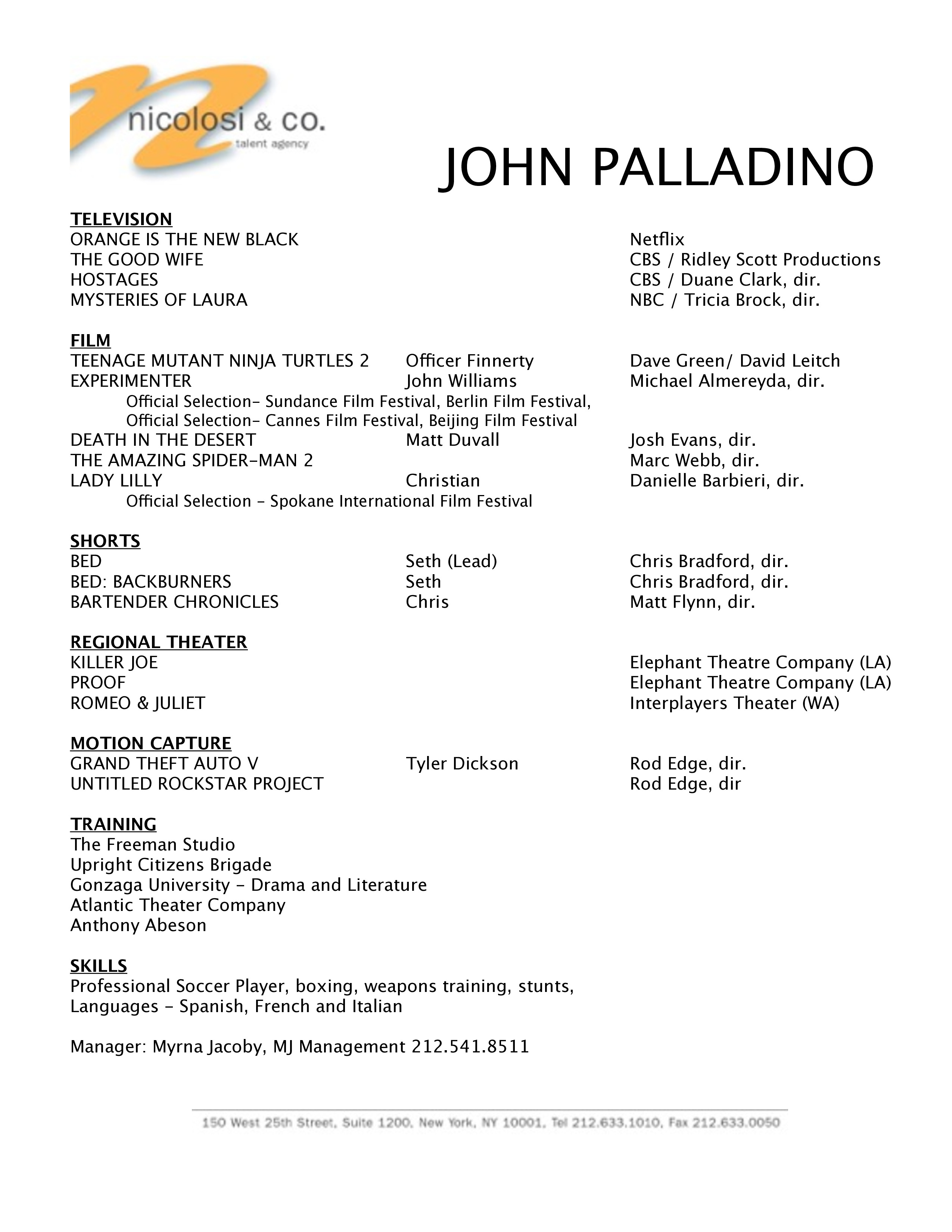Talent Agent Resume Talent Agent Cover Letter Sample Images Cover